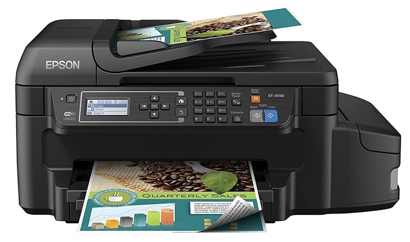 Epson WorkForce Pro ET 4750 Review EcoTank Review what is an ecotank is an ecotank worth it joes printer buying guide best printer reviews 2019 best printer reviews and ratings 2019
