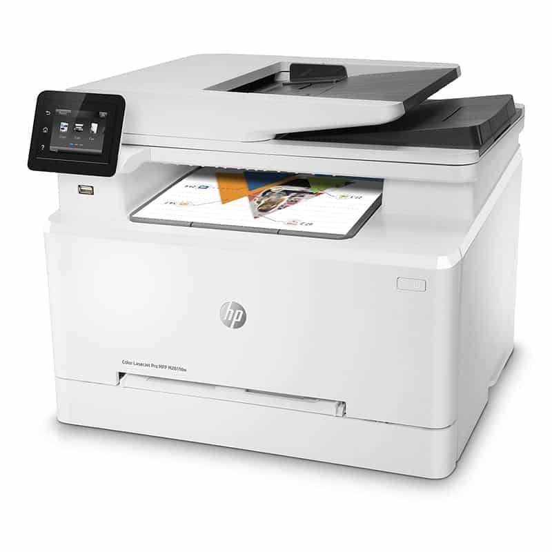 Best Cheap Color Laser Printer HP LaserJet Pro 281fdw Review Joes Printer Buying Guide Best Printer Reviews 2019 Best Printer Reviews and Ratings 2019