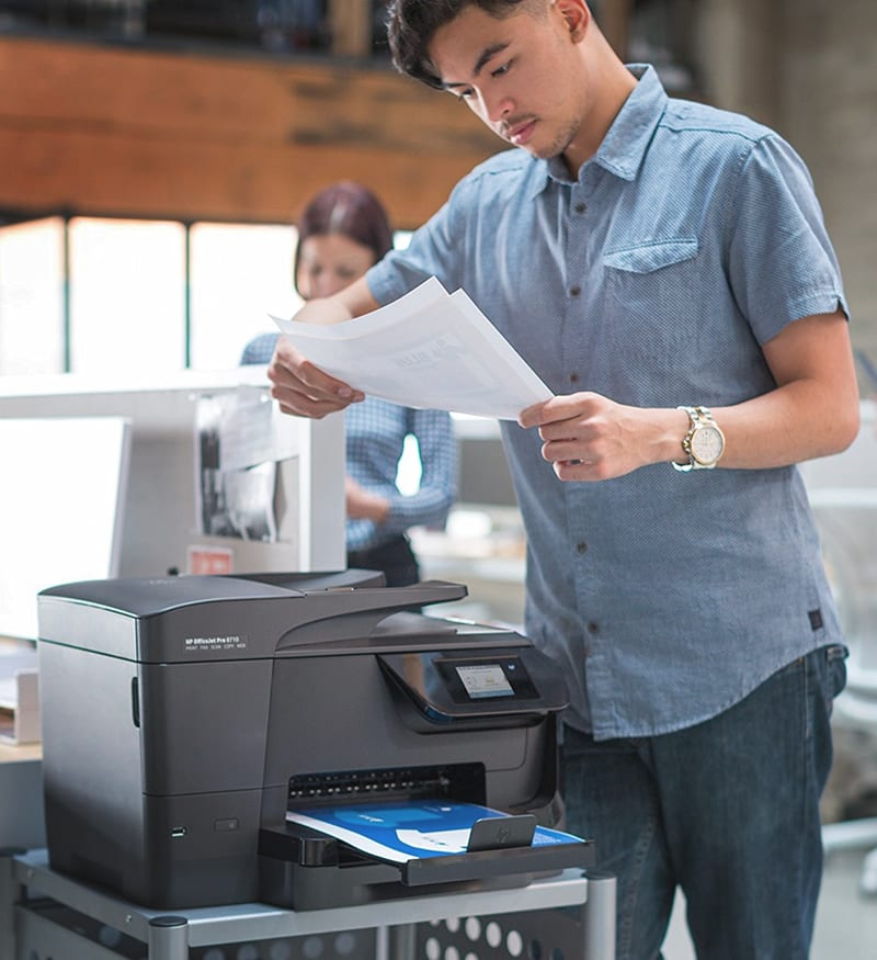 HP OfficeJet Pro 8710 Review Joes Printer Buying Guide Best printer reviews and ratings 2019 best printer reviews 2019