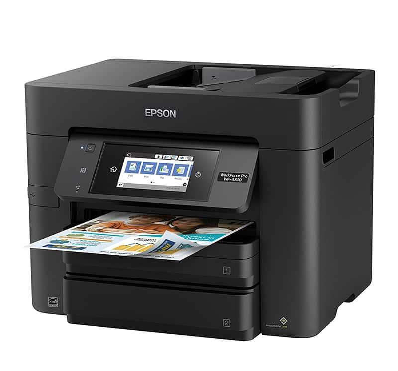 Epson WorkForce Pro WF-4740 Printer Review - Joe's Printer