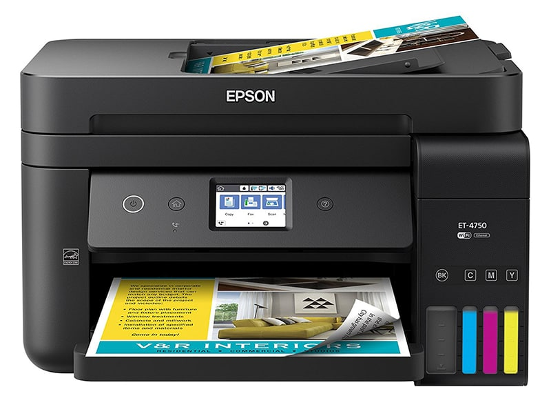 Epson EcoTank ET 4750 Review Joes Printer Buying Guide Best Printer Reviews 2019 Best Printer Reviews and Ratings 2019