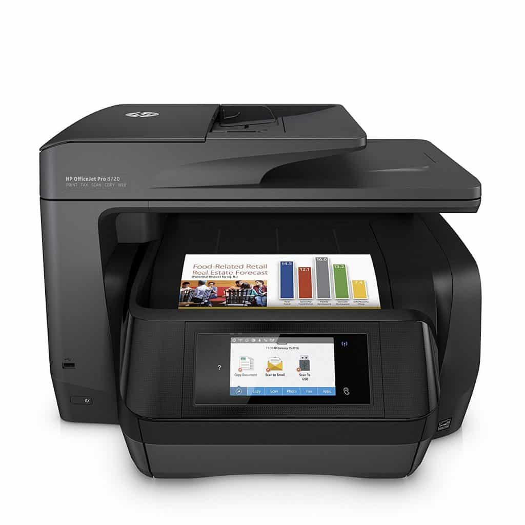 HP OfficeJet Pro 8720 Review Joes Printer Buying Guide Best Printer Reviews and Ratings 2019 Best Printer Reviews 2019