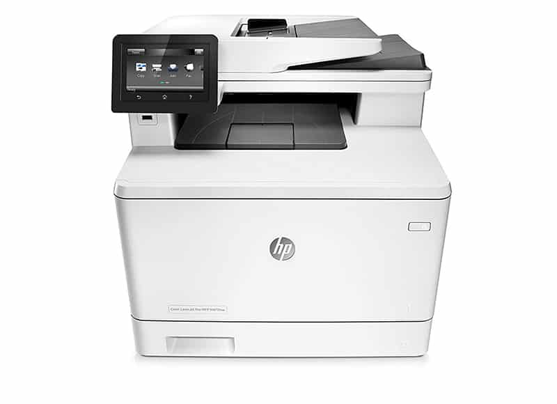 HP Laserjet Pro M477fdw All in One Wireless Laser Printer Joes Printer Buying Guide Best Printer Reviews 2019 Best Printer Reviews and Ratings 2019